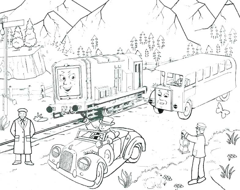 784x623 Thomas And Friends Coloring Pages Online Page Free Travelsonline