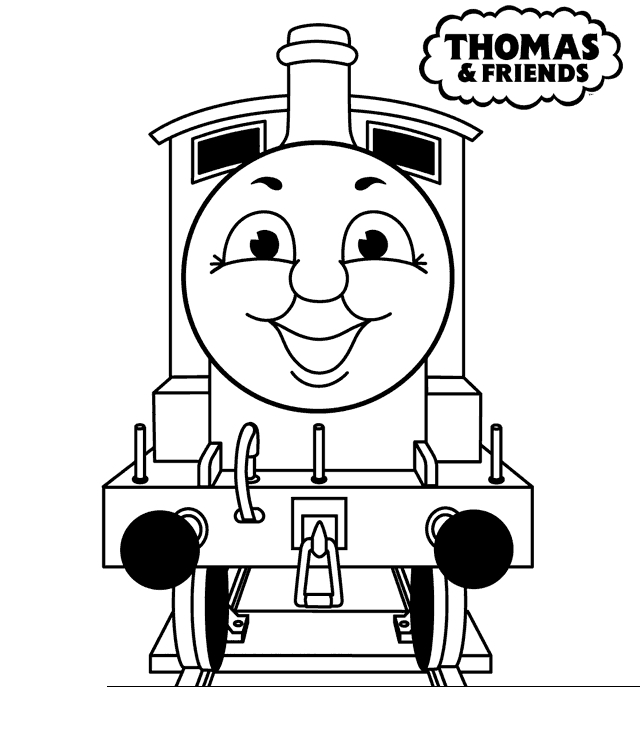 640x749 Thomas And Friends Coloring Sheets