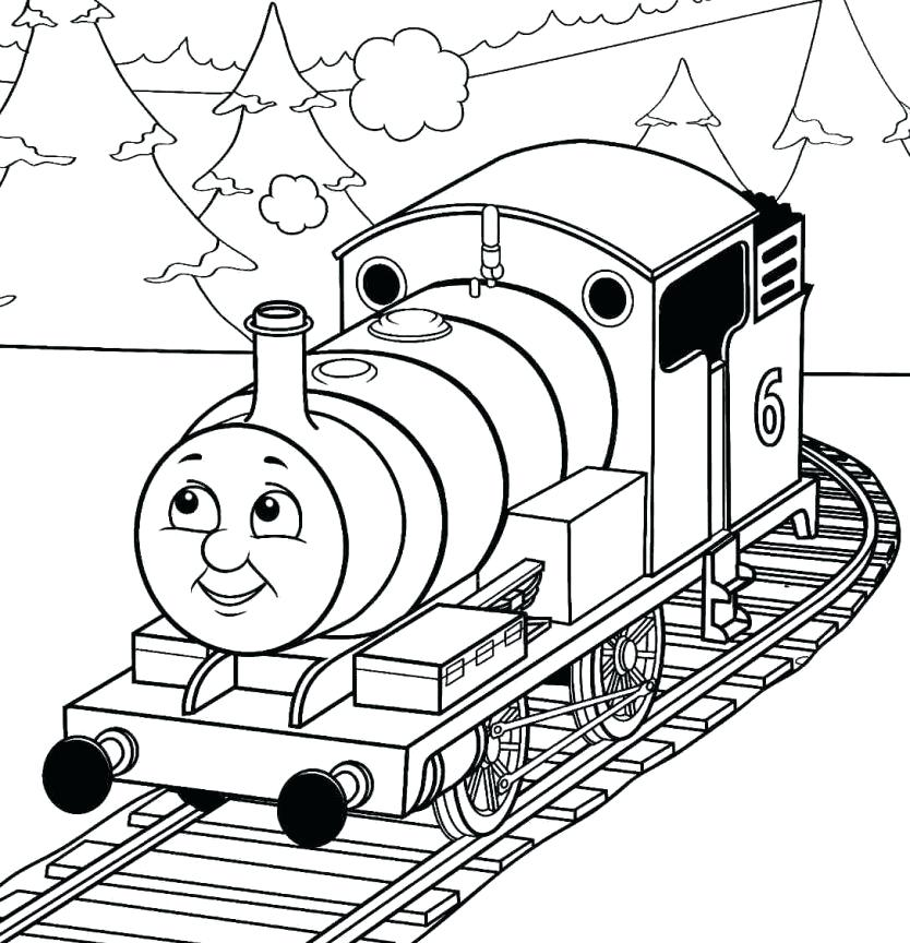 834x864 Thomas Friends Coloring Pages Kids Coloring The Train Coloring