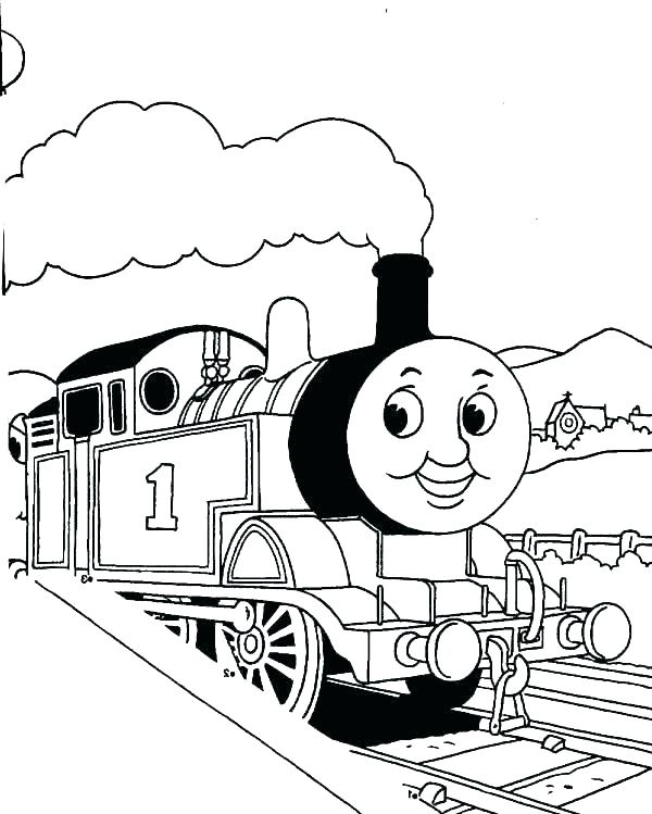 Thomas And Friends Coloring Pages At Getdrawings Com Free For