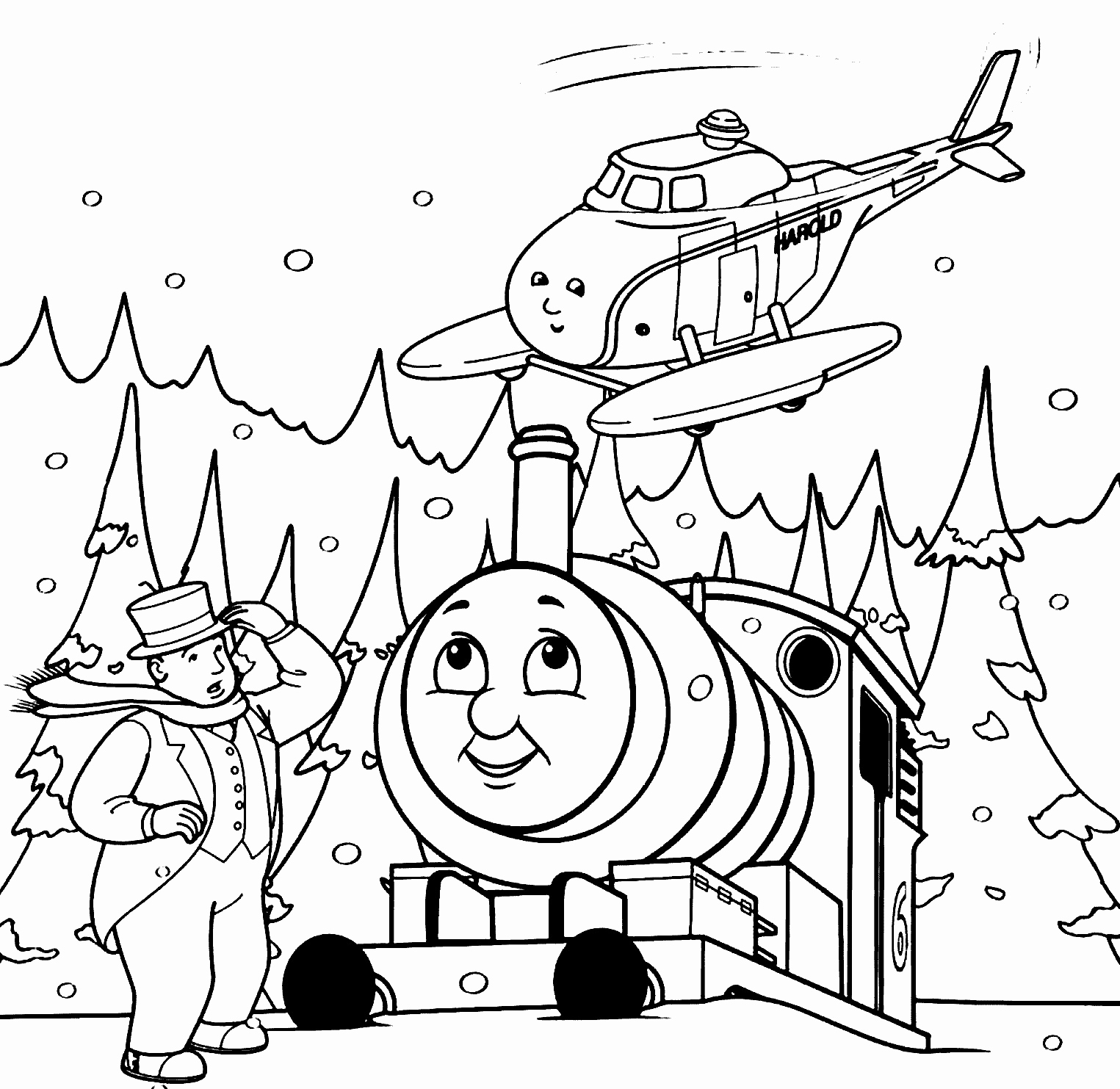 Thomas And Friends Coloring Pages at GetDrawings.com | Free for ...