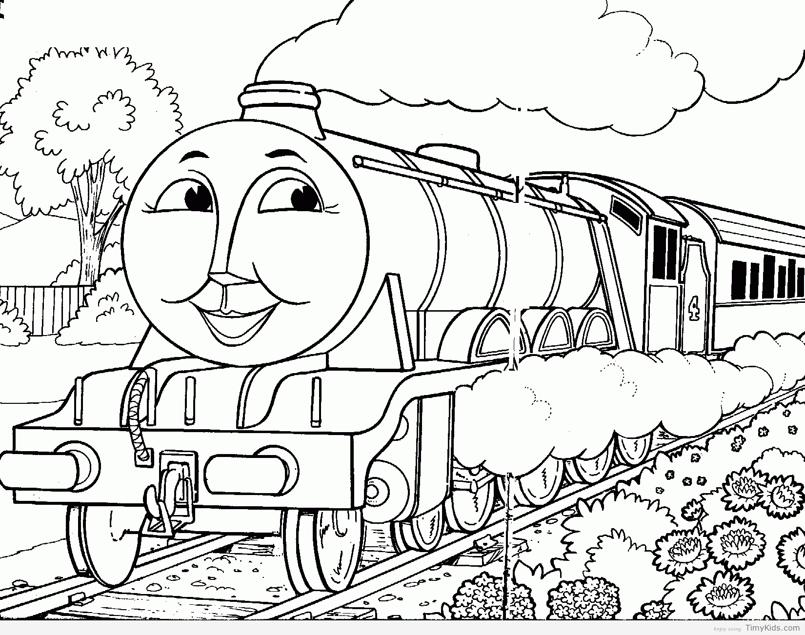 1650x1302 New Thomas And Friends Coloring Pages Collection Printable