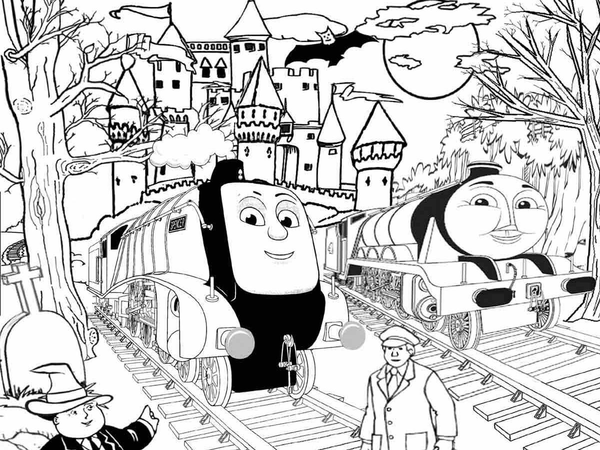 1200x900 Thomas And Friends Christmas Coloring Pages Allmadecine General