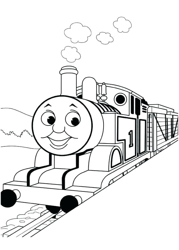 600x840 Thomas Friends Coloring Pages The Train Coloring Pages