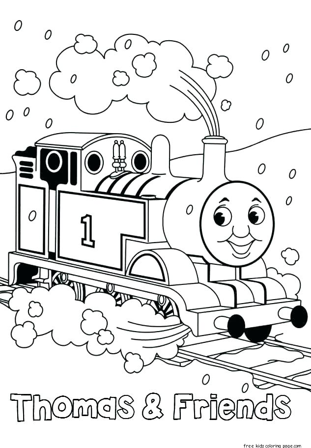 633x912 Thomas Coloring Pages The Train Printable Coloring Pages