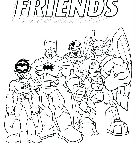 567x600 Best Friends Coloring Pages Printable Friendship Coloring Pages