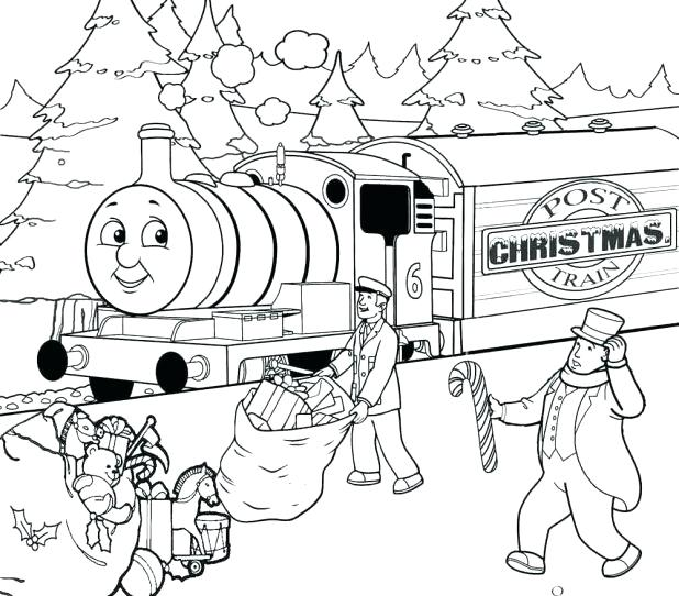 618x542 Thomas The Train Coloring Pages Free Printables The Train Coloring