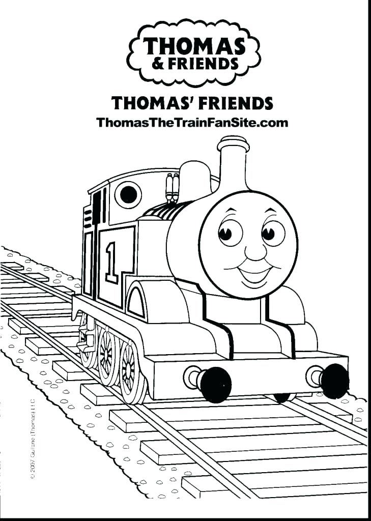 729x1024 Thomas Train Coloring Sheets Train Train Thomas