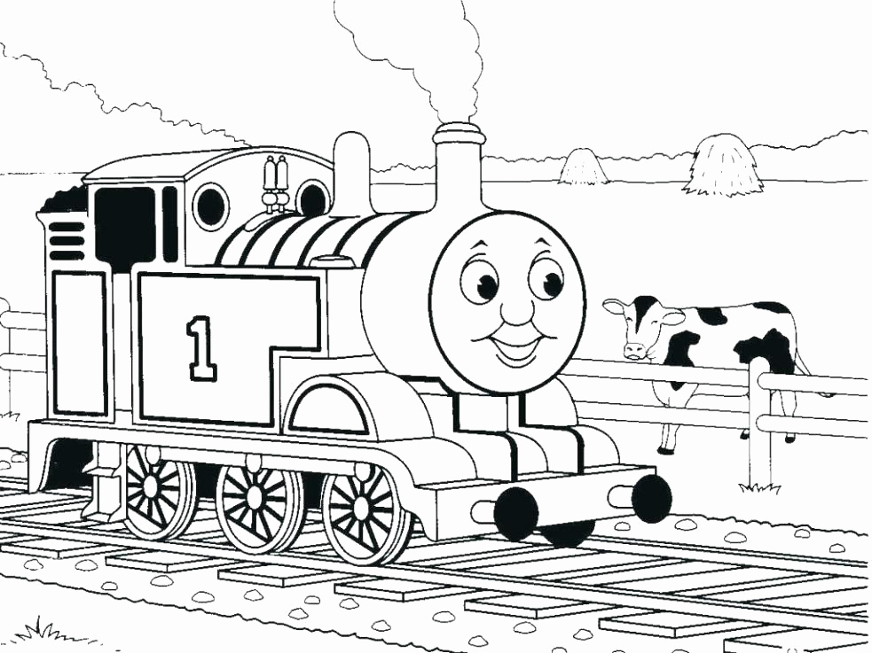 983x737 Thomas And Friends Coloring Pages Pics Thomas And Friends