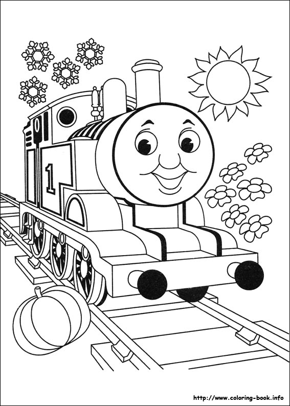 567x794 Thomas And Friends Coloring Pages On Coloring