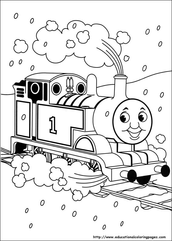 Thomas And Friends Printable Coloring Pages at GetDrawings ...