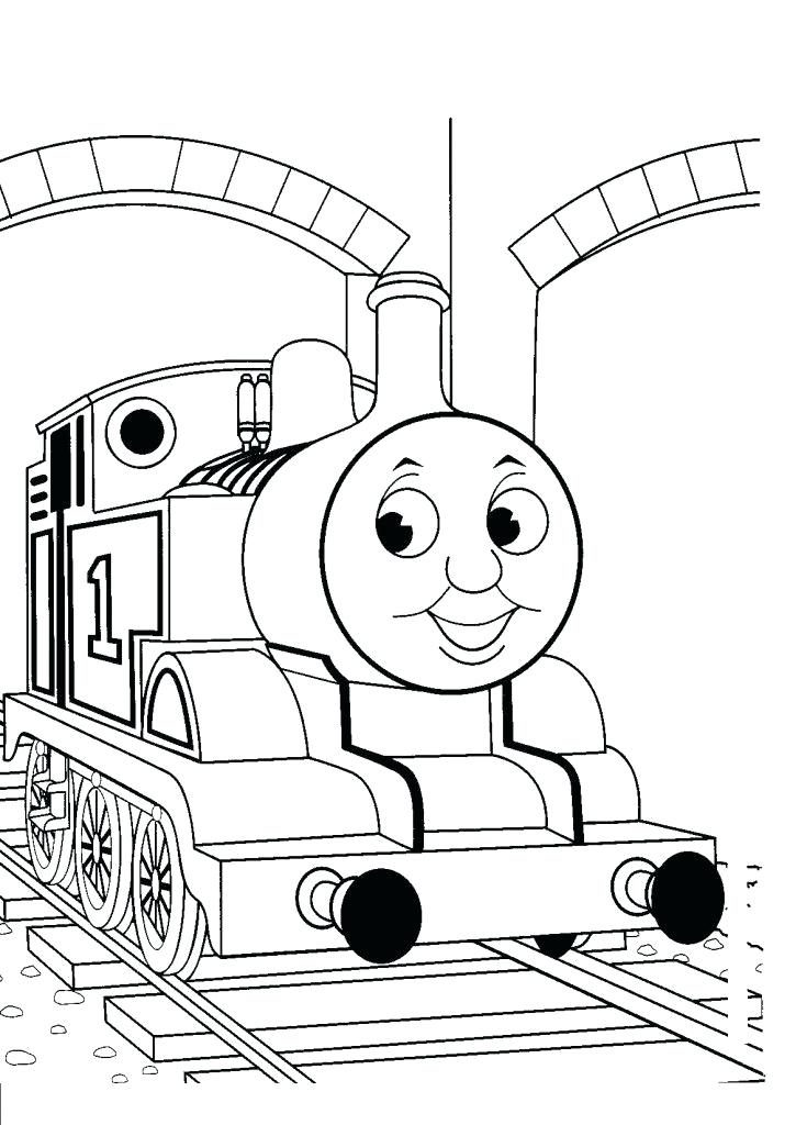 Thomas And Friends Printable Coloring Pages At Getdrawings