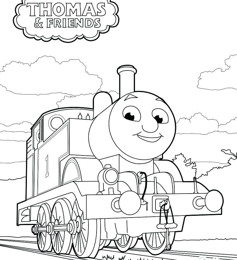 820x900 Free Thomas Coloring Pages And Friends Coloring Page Free