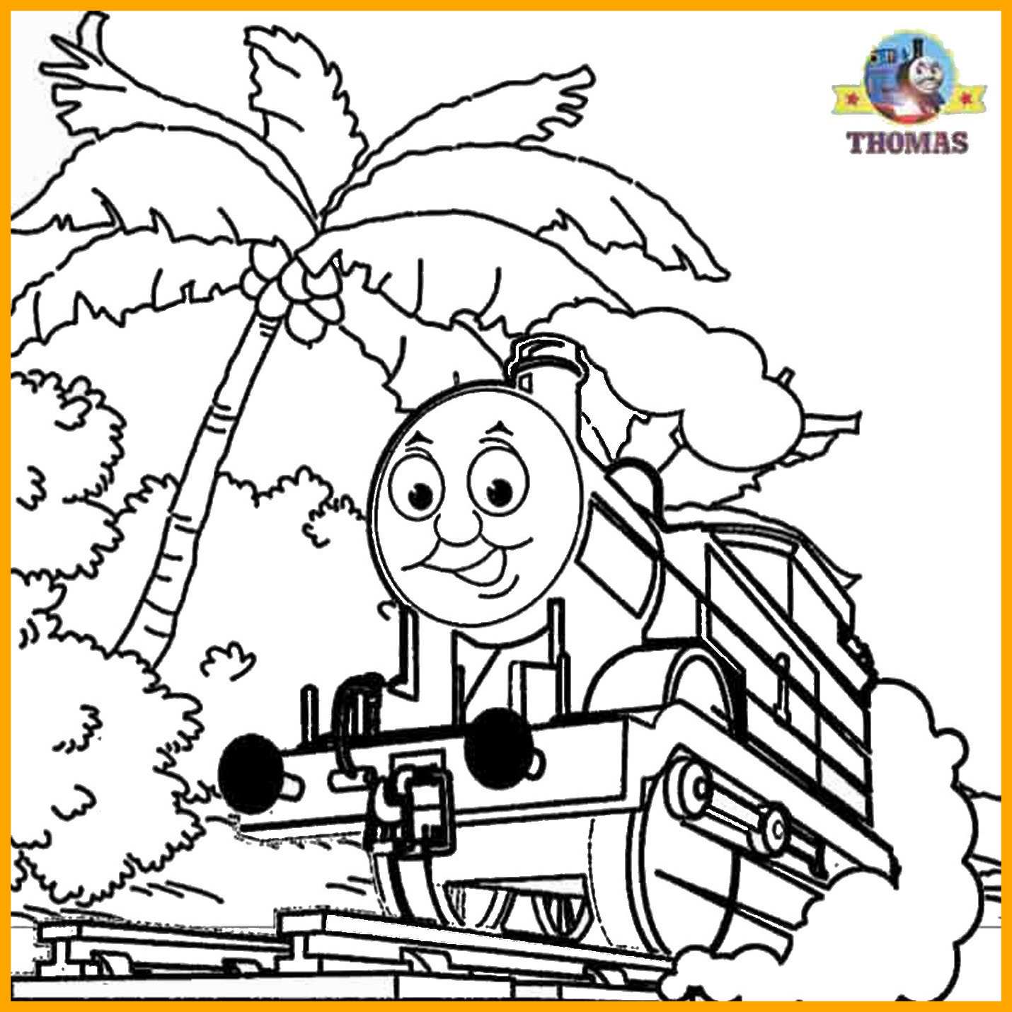 1430x1430 Stunning Thomas The Train Coloring Pages Image Of Tank Engine