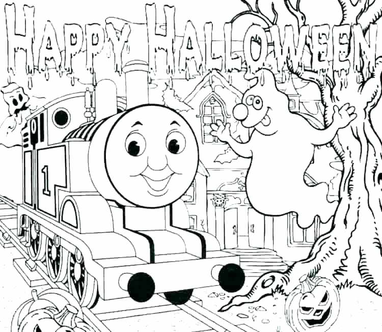 750x652 Thomas Train Coloring Page The Train Color Page Train Coloring