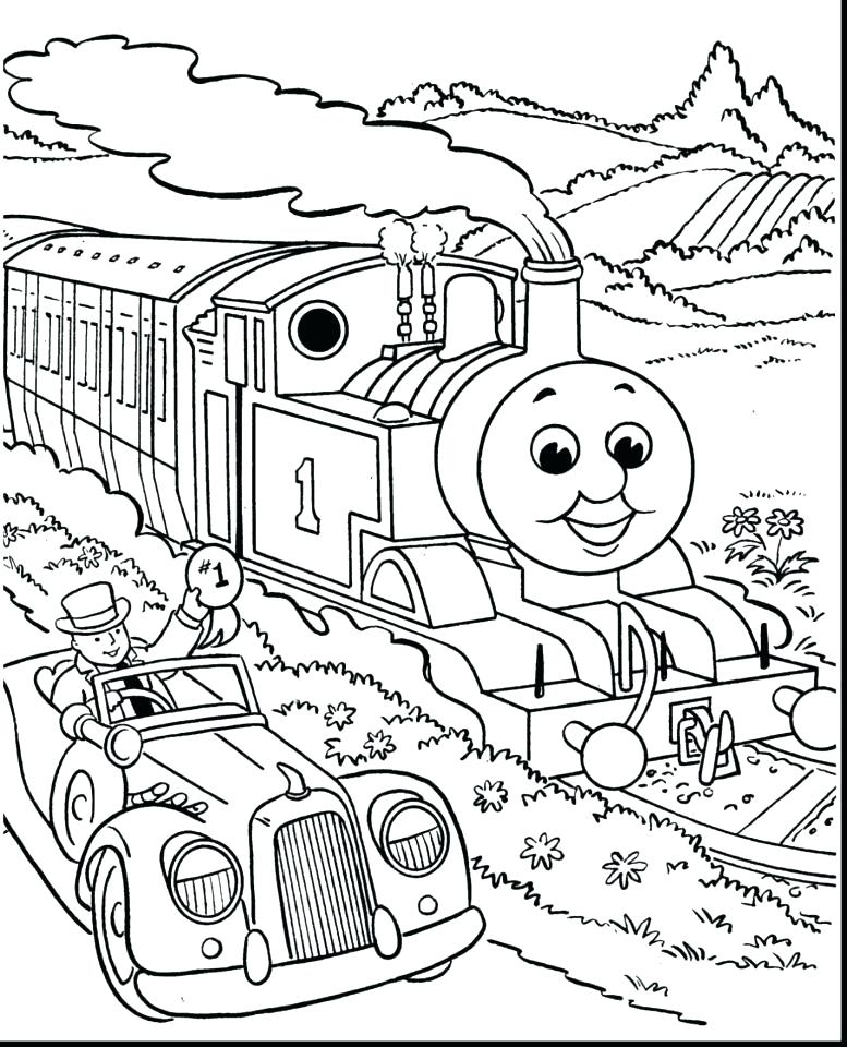 Thomas And Friends Coloring Pages Edward