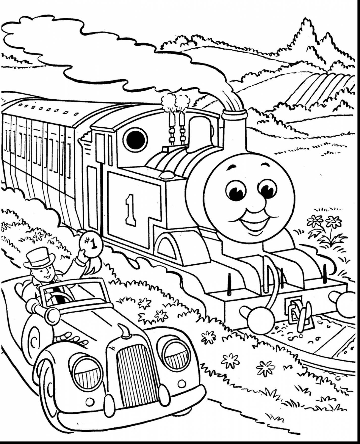 1426x1760 New Thomas And Friends Coloring Pages Collection Printable