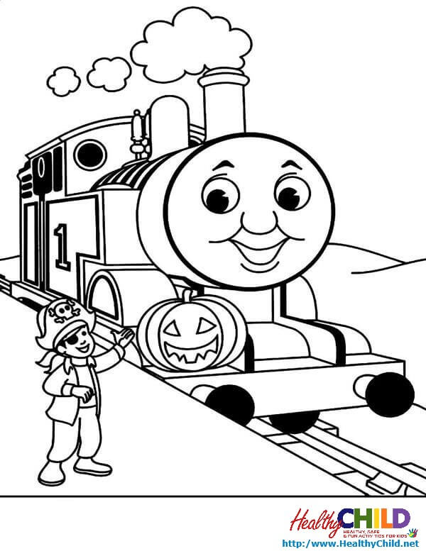 600x777 Thomas Tank Images Colouring Pages