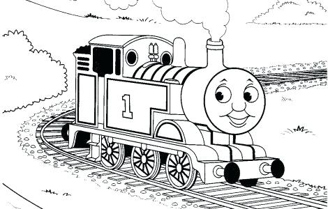 470x300 Thomas The Train Coloring Pages Free Printables Free The Train