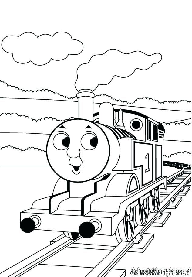 633x912 Thomas Coloring Pages Printable
