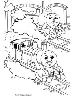 236x319 Free Printable Thomas The Train Coloring Pages For The Kiddos