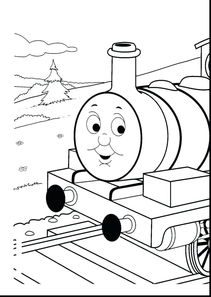 729x1024 Free Thomas The Train Coloring Pages Free The Tank Engine