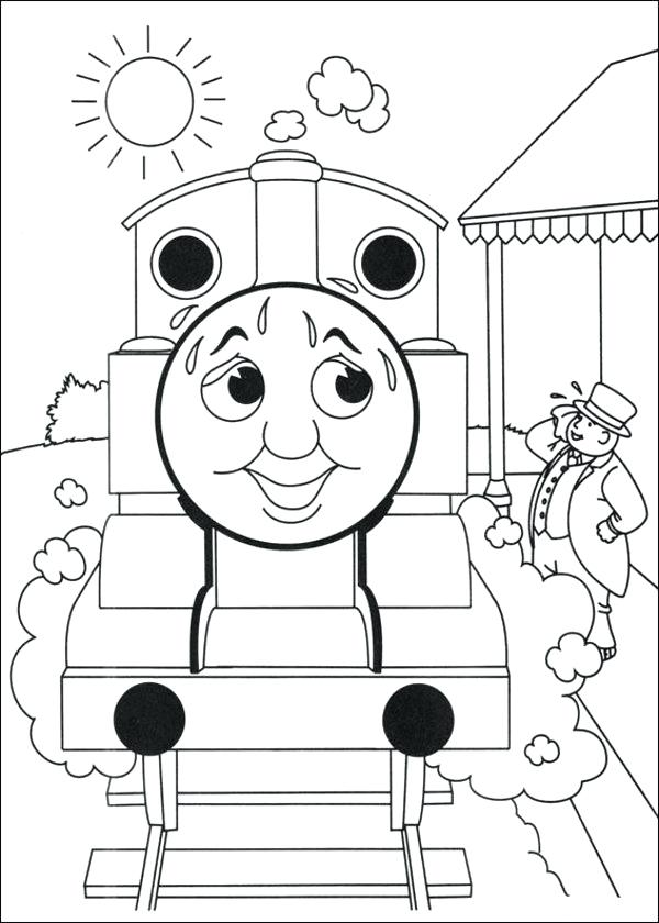 600x840 Thomas Coloring Pages Download The Tank Engine Coloring Pages