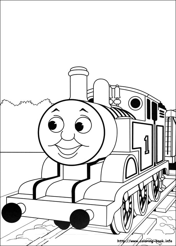 567x794 Thomas The Train Color Pages Thomas And Friends Coloring Pages