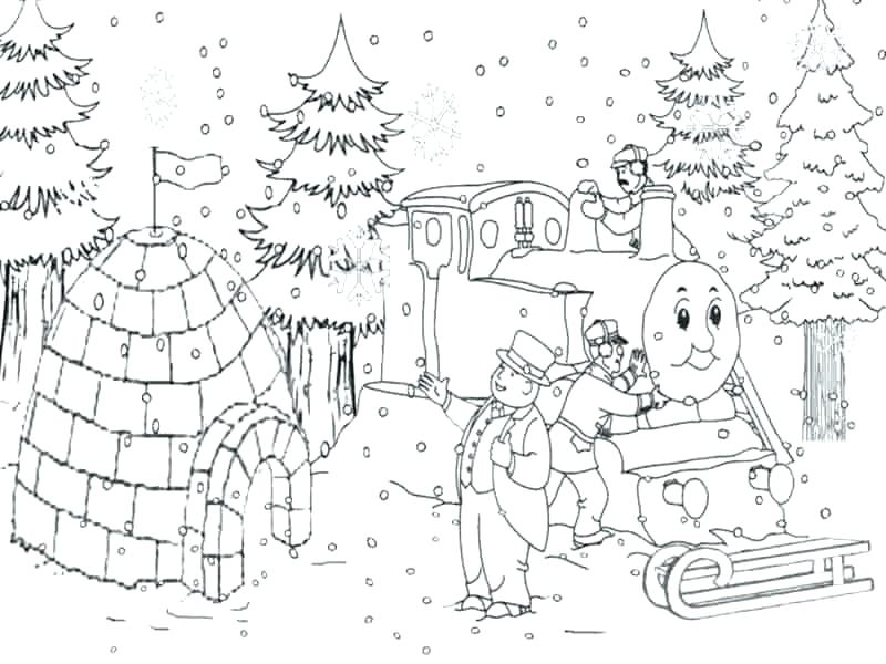 800x600 Thomas Train Coloring Page The Train Printab Coloring Pages