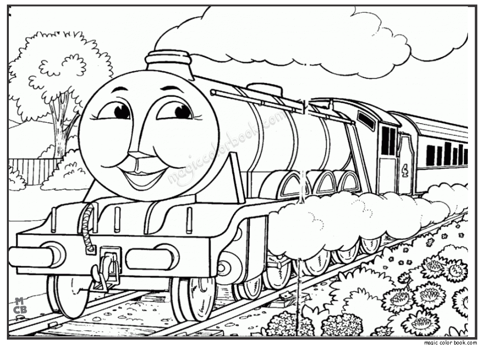990x703 Thomas And Friends Coloring Pages Mewarnai