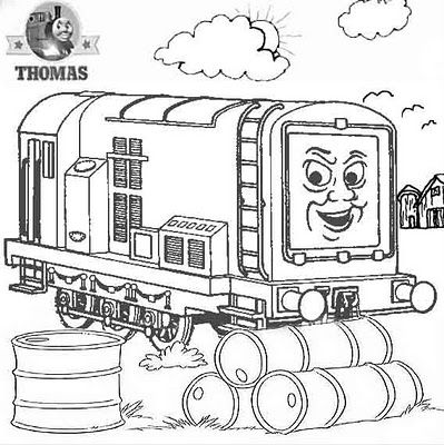 399x400 Diesel Coloring Pages Thomas And Friends Diesel Does It Again
