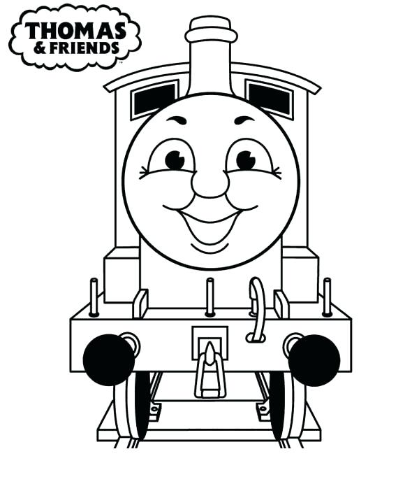 Thomas The Train And Friends Coloring Pages At GetDrawings Free Download