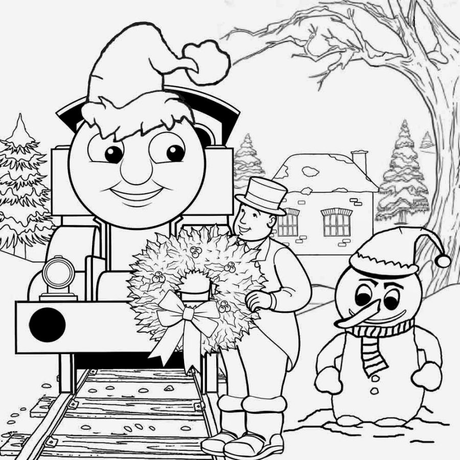 900x900 Colorful Making Friends Coloring Pages Thomas Book The Train