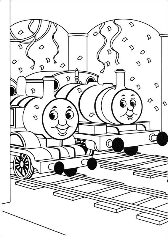 Thomas The Train Birthday Coloring Pages At GetDrawings Free Download