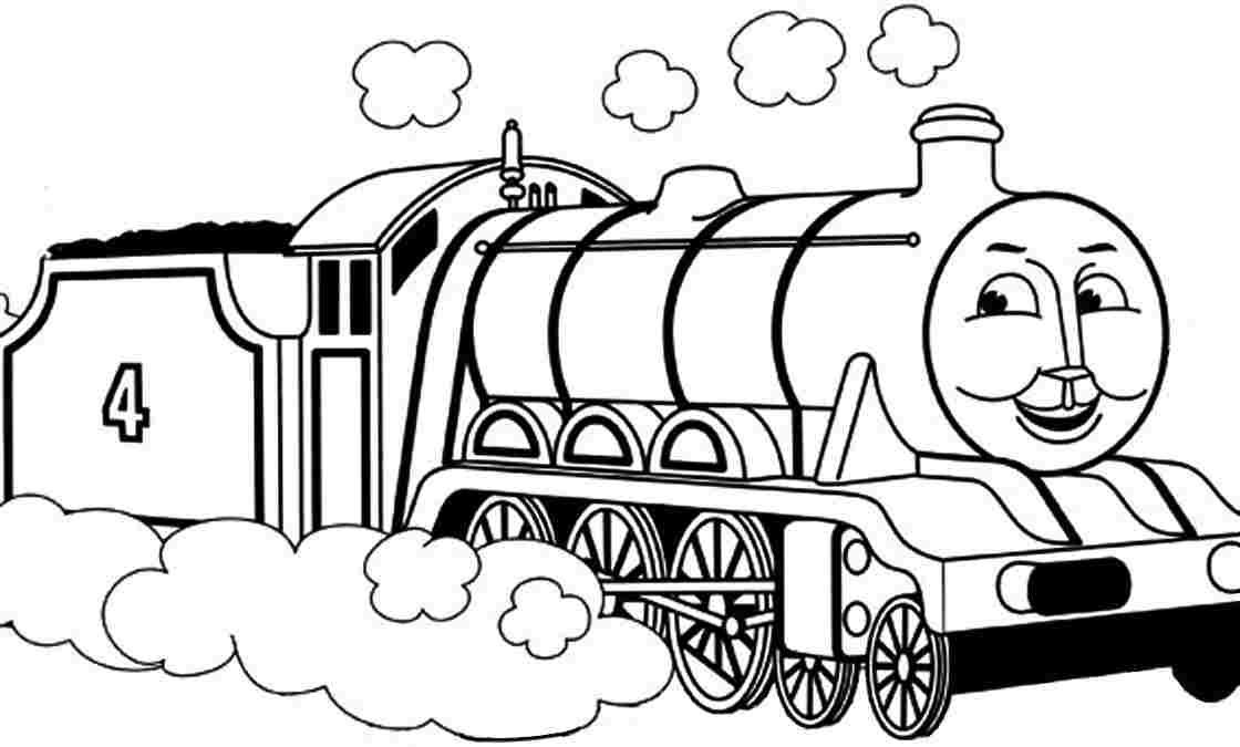 Thomas The Train Christmas Coloring Pages at GetDrawings ...