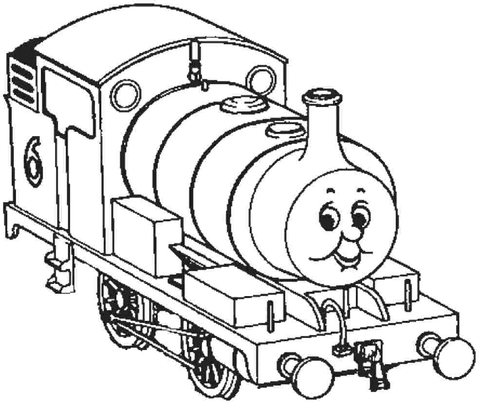 984x831 Thomas The Tank Engine Coloring Pages To Download Percy Train