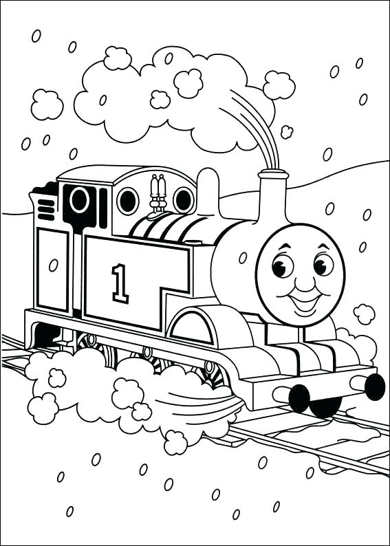 567x794 Thomas The Train Coloring Thomas The Tank Engine Coloring Games