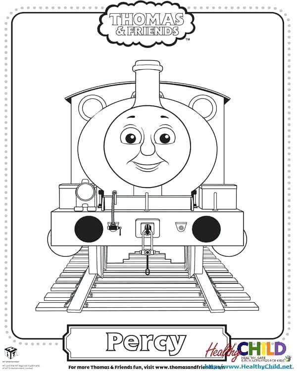 600x750 Thomas Tank Engine Christmas Coloring Pages