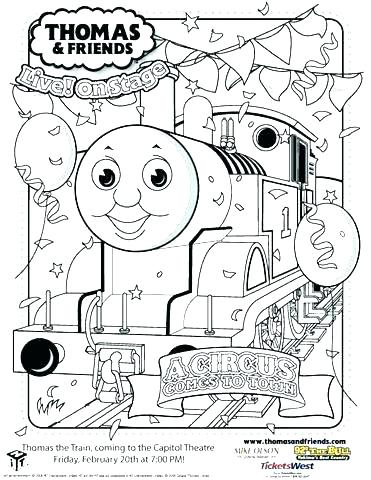 371x480 Thomas Train Coloring Pages Printable