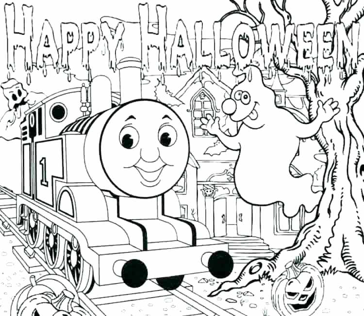Thomas The Train Coloring Pages At GetDrawings Free Download
