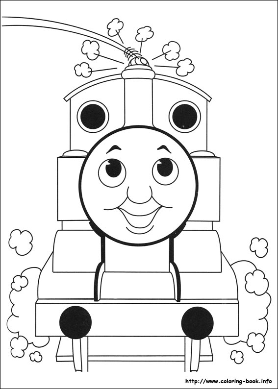 Thomas The Train Coloring Pages Free Printables at GetDrawings.com ...