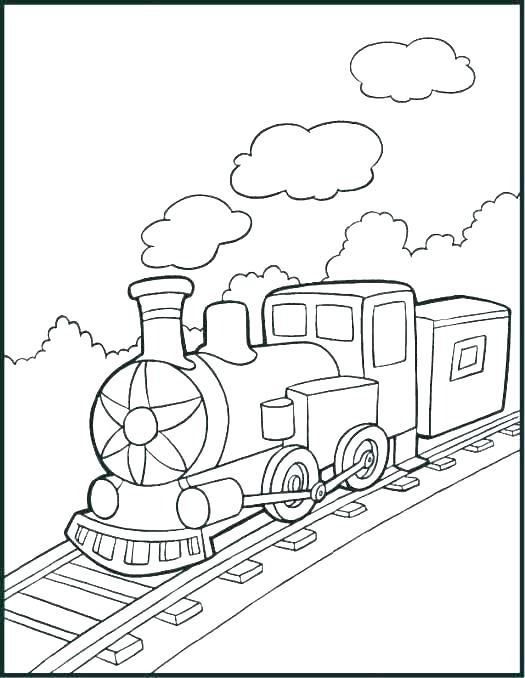 525x678 Thomas Train Coloring Page The Train Coloring As Well As The Train