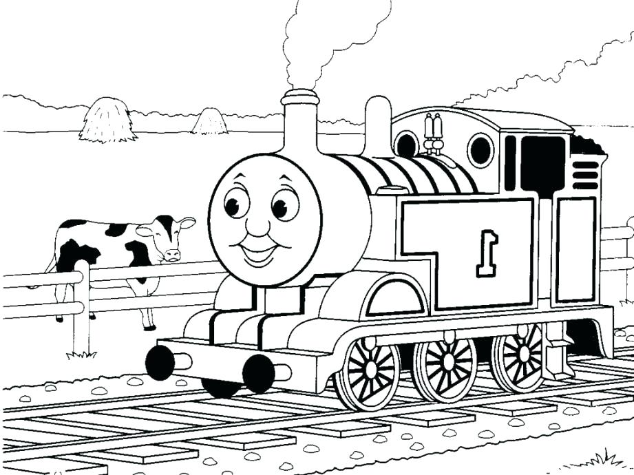 Thomas The Train Coloring Pages Online At Getdrawings Com Free For
