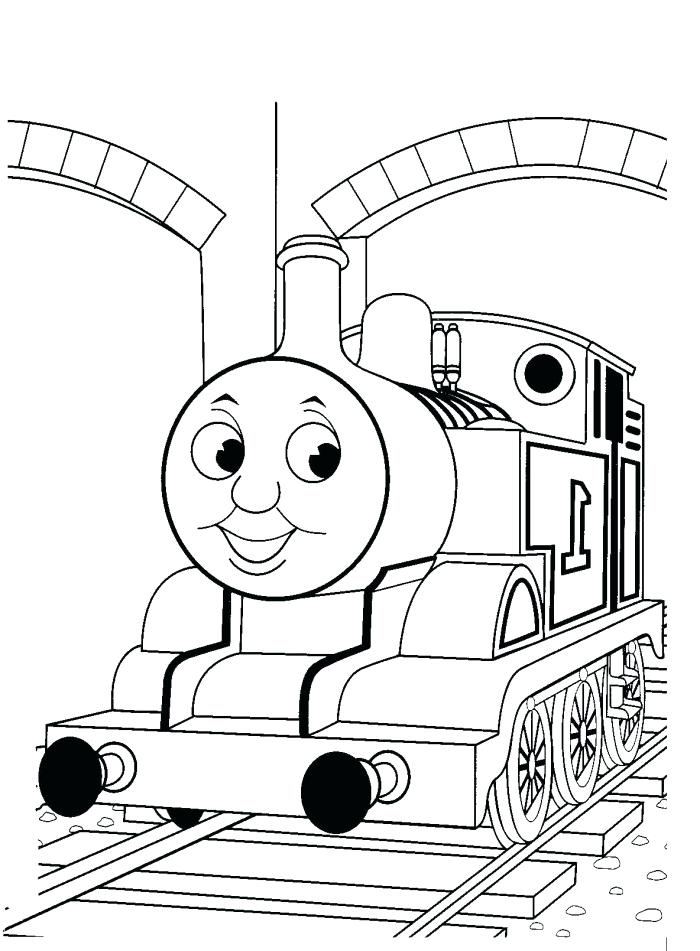 700x951 Thomas The Train Coloring Book With The Train Tunnels Coloring