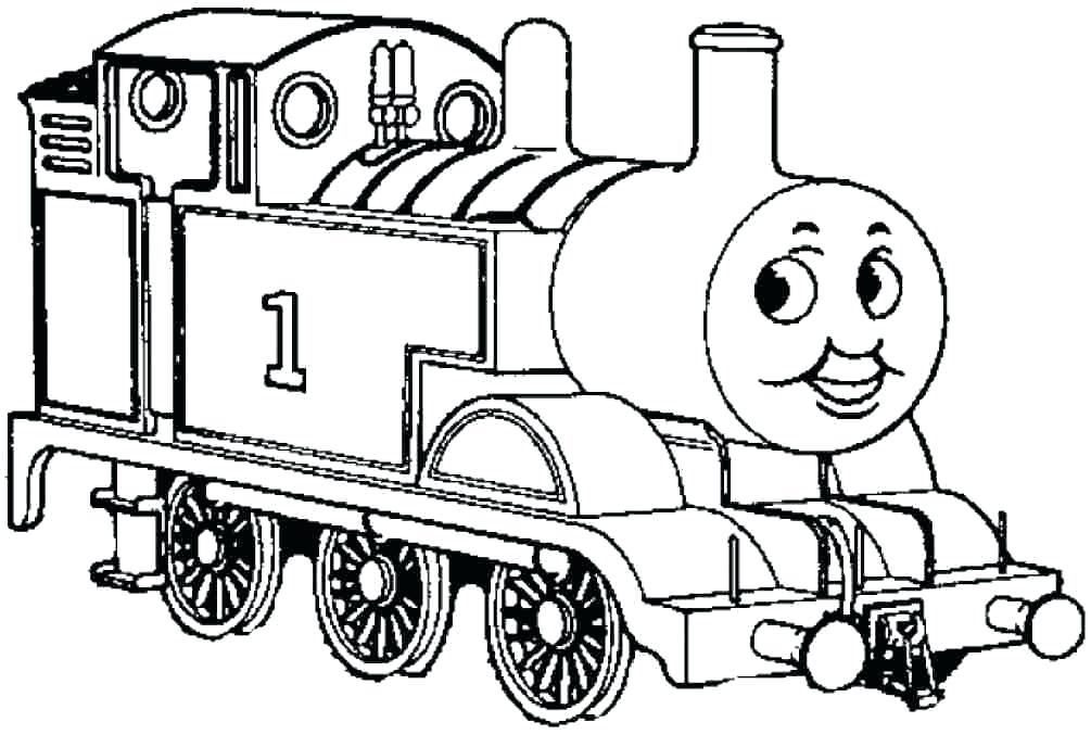 Thomas The Train Coloring Pages Pdf At GetDrawings Free Download
