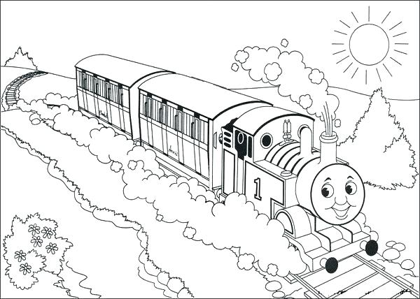 600x428 Thomas The Train Coloring Thomas The Tank Engine Coloring Pages
