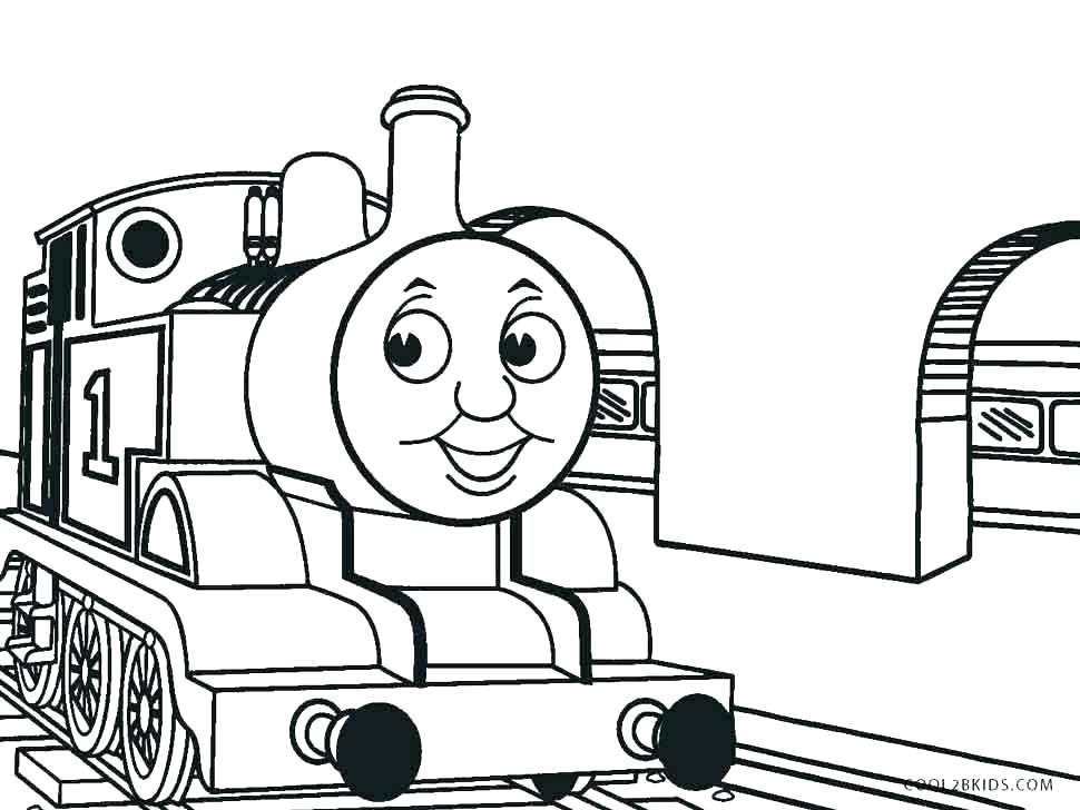 970x728 Thomas The Train Printable Coloring Pages Free Printable The Train