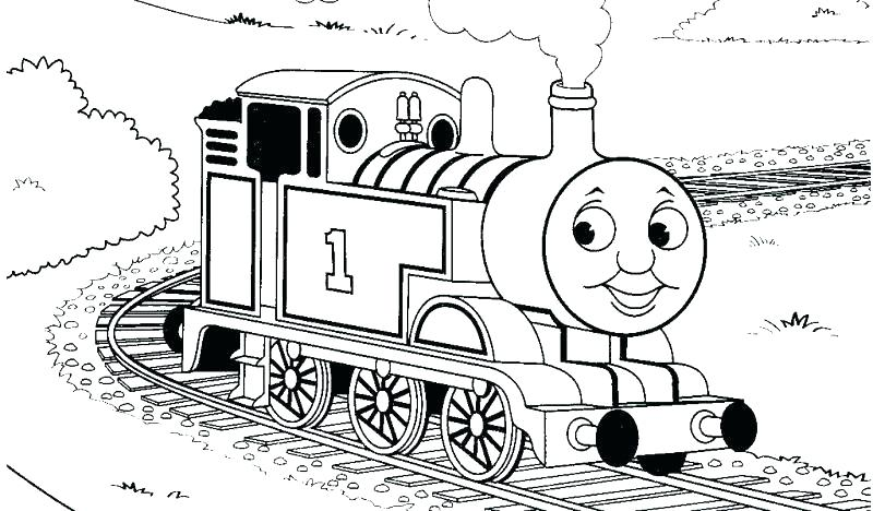 800x468 Thomas Train Coloring Page Train Coloring Pages Thomas