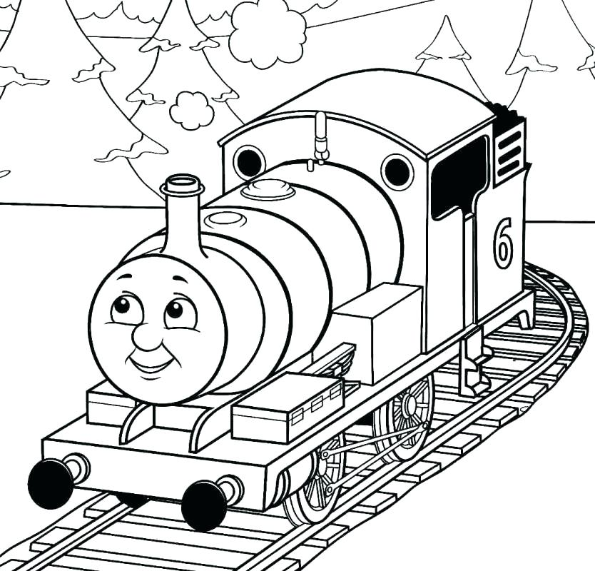 834x800 Thomas Train Coloring Pages Last Updated May Thomas Train