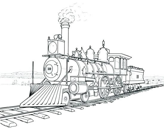 550x428 Train Coloring Pages Train Coloring Pages Coloring Train Coloring